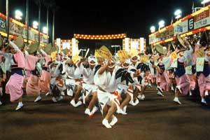 徳島阿波踊り2017年の日程・時間は? おすすめスポットも紹介!