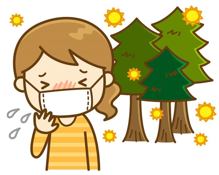 春といえば? 花粉症