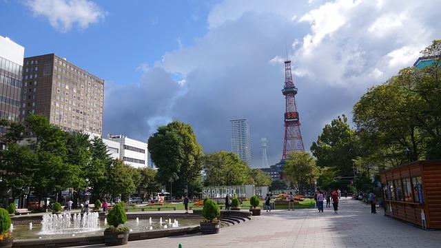 北海道の大通公園を堪能するオススメすべき3つの注目ポイント