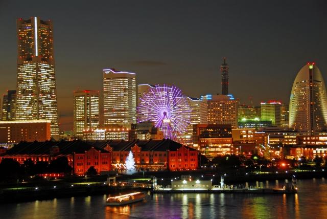 神奈川県おすすめ観光ランキングNo.2 横浜港未来地区