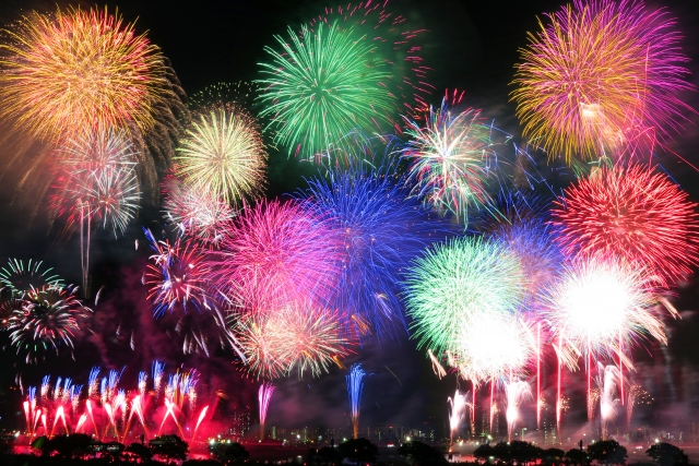 九州一花火大会の2018年の日程・時間は?花火穴場スポットもご紹介!