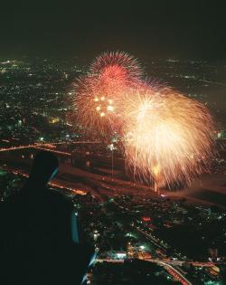 長良川花火大会の2017年の日程・時間は?花火穴場スポットも紹介!