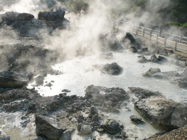 雲仙地獄の温泉