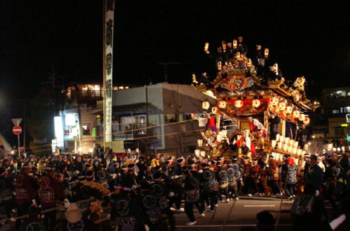 秩父夜祭の2017年の日程・時間は?花火穴場スポットも紹介!